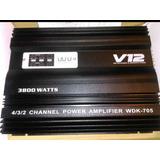 Amplificadorv12 3800 Watts 4 Canales ( No Sony Pionner Jvc )