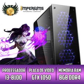 Cpu Gamer Imperiums I3 8100 Hd 1tb 1050 +30 Jogos Rtw G3