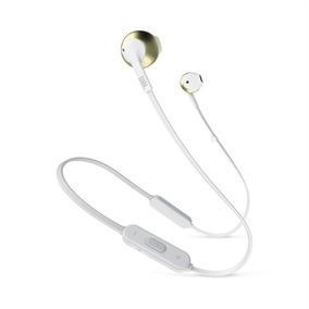 Fone De Ouvido Jbl 205 Bt Bluetooth 4.0 Dourado/ Microfone