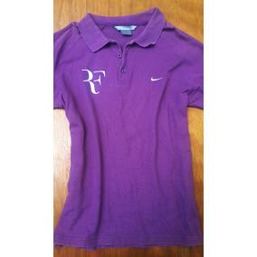 Playera Polo Nike Tenis Rf Roger Federer Mediana Original