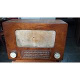 Radio Antigo Valvulado Aga Sueco Único No Ml