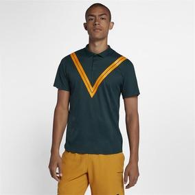92a8a70d58 Camisa Polo Nike Court Roger Federer Rf Advantage Verde