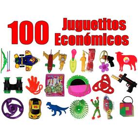 Juguetes Económicos Regalos Fiestas Piñatas 100 Piezas