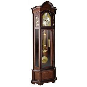 Relógio De Chão Carrilhão Herweg A Corda Com Garantia E Nf