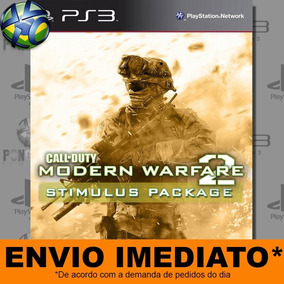 Jogo Call Of Duty Modern Warfare 2 Stimulus Package Ps3 Psn