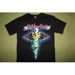 Gusanobass Playera Rock Metal Motley Crue Dr Feel Talla X L