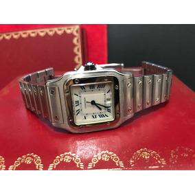 Cartier Santos Acero Caballero O Dama Full Set 9cito Rol Sub