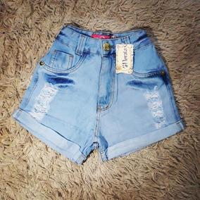 Short Shortinho Pedal Pedalete Roupas Femininas Jeans Tam 36