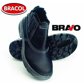 a8864179f0620 Botina Bracol Bico De Aco - Sapatos para Masculino no Mercado Livre ...