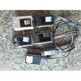Câmera Digital Sony É Samsung + Cartão Memoria + Carregador