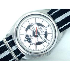 fff8e61cbdc Relógio Seiko Soccer 5y23 Em Aço Conservado - Lorus Aka Alba