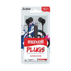 Fone De Ouvido Com Microfone Earbuds Stereo Preto - Maxell