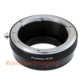 Objetivo Nikon Al Adaptador De Cámara Samsung Nx1 Nx500-4813