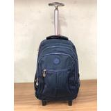 Mochila Laptop Notebook Com Rodas Viagem Ou Escolar Estilo e5b595ef4a357