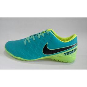 5d62e1b79f Chuteira Society Nike Tiempo 41 Adultos Parana - Chuteiras Azul ...