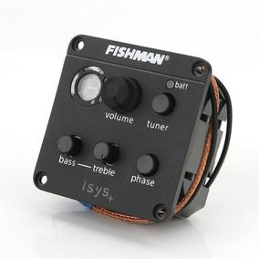 Fishman Isys + Piezo Preamp A Bordo Fase Eq Tuner Pickup...