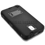 Samsung Galaxy Note 3 - Black - Híbrido De Goma Rugoso -3198