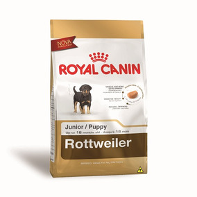 Ração Royal Canin Rottweiler Junior Para Cães Filhotes - 12k