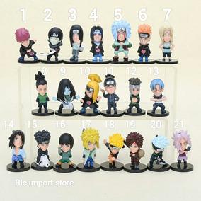 Boneco Naruto Shippuden Miniatura Itachi Sasuke Kakashi