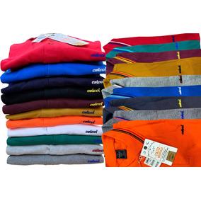 e65963e8dd Kit 3 Camisas Polo Armani Masculina Cores Quente Verão 20