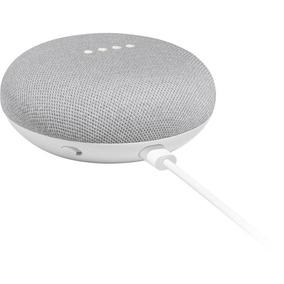 Speaker Google Home Mini Branco Ativação Por Voz Ptbr Lacrad