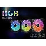 Pack 3 Ventiladores Raidmax Rgb 120mm Oferta Navidad !!!