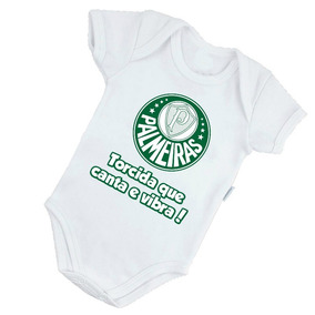 7c19ac0785 Kit Palmeiras Body Pantufa Torcida Baby - Bebês no Mercado Livre Brasil