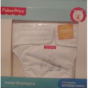 Pañal Ecologico Fisher Price Talla Solo P (sin Absorvente)
