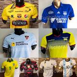 Camiseta Barcelona, Emelec , Liga De Quito, Selecciónes