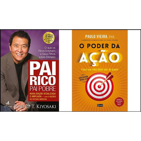 Kit Pai Rico Pai Pobre + O Poder Da Ação (digitais)