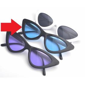 Óculos Sol Lolita Triangular Proteção Uva Uvb+ Case+ Flanela 3666e8c43a