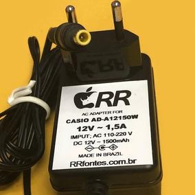 c073c1c5982 Fonte Teclado Casio 12v - Instrumentos Musicais no Mercado Livre Brasil