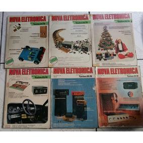 Revista Nova Eletronica No. 8 A 14 - Frete Gratis