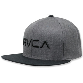 Gorra Rvca Twill Charcoal Heather Grey