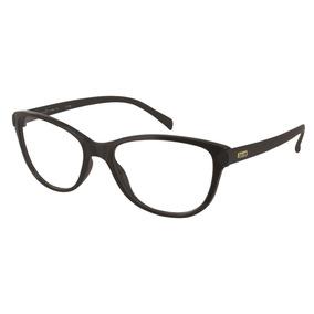 a3eb224d3cc82 Armação Oculos Grau Secret 8005457633 Preto Brilho E Fosco