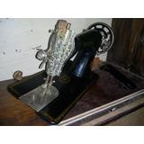 Antiga Maquina Costura Singer Pedal Para Gabinete
