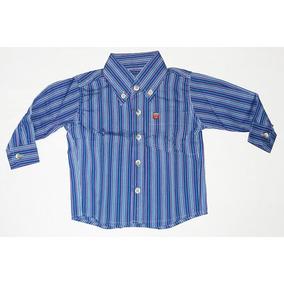 Camisa Baby Os Vaqueiros Infantil Listrada Manga Longa Socia 0102e7d8225