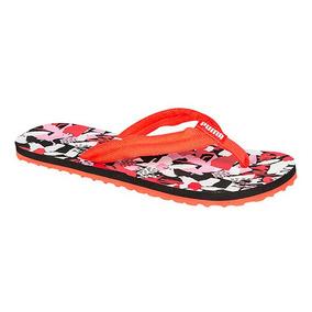 79dff36a494 Sandalias Puma Baño Flip Plana Mujer Sint Rojo 99338 Dtt