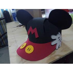 10 Gorros Mickey Mouse Sombreros De Mickey Gorrito Fiestas d32611774d5