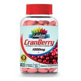 Combo 5 Potes Cranberry 1000mg 180 Caps Lauton