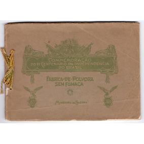 Exposição De 1922 - Fábrica De Pólvora Sem Fumaça