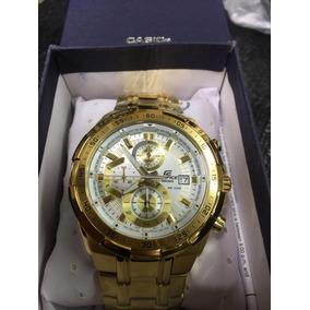 2cf6db00c47 Relogio Casio Edifice Fundo Branco - Relógio Casio Masculino no ...