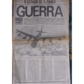 O Estado De São Paulo 17/1/1991 Guerra Do Golfo
