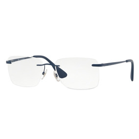 4942cd0bd1efd Óculos De Grau Ray Ban Sem Aro Original Rb6415l 2553 Tam. 54