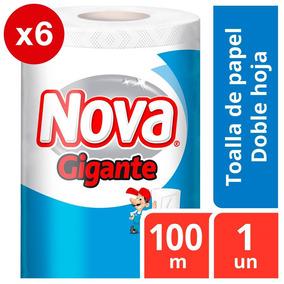 Toalla Nova Gigante Pack X6 100m Oferta Envio Gratis