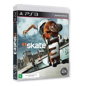 Skate 3 Ps3 Novo Lacrado Mídia Física Envio Imediato