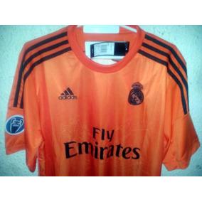 4d0a14b64a8c8 Camiseta De Real Madrid Naranja - Camiseta del Real Madrid para ...