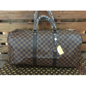 ef9add088 Remate Maleta Keepall Louis Vuitton Damier Cafe Envio Inmedi