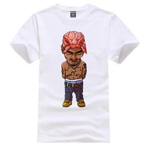 c511041a98 Camiseta Camisa Blusa King Rap Tupac Swag