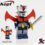 Mazinger, Voltron, Depredador Figuras Tipo Lego